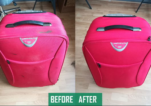 How to effectively carry out suitcase cleaning